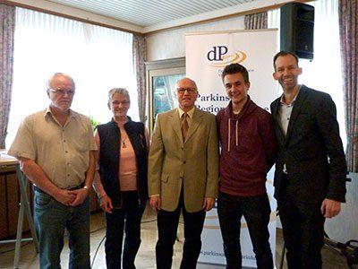 Mit bestem Dank an alle Beteiligten: Hagen Libeau, Margret Hartwig, Reiner Krauße, Nils Lauel, Dr. Olaf Rose (von links)