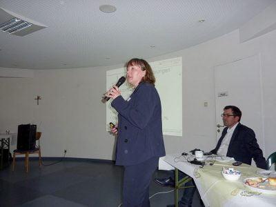 Jeannette Overbeck, Klinische Neuropsychologin.
