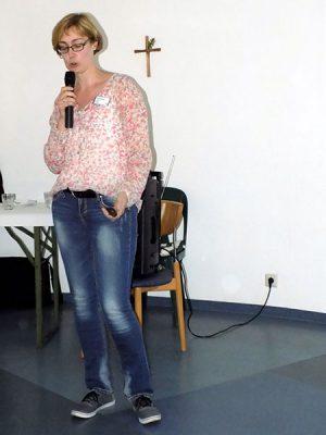 Tanja Strotmann, leitende Logopädin.