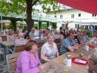 Entspannen im Biergarten in unserem Hotel 'Fuchsbräu' in Beilngries