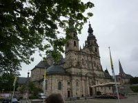 Der Hohe Dom zu Fulda wurde auf der Rückreise besichtigt