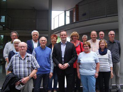 Die Teilnehmer aus dem Kreis Steinfurt mit Jens Spahn, MdB