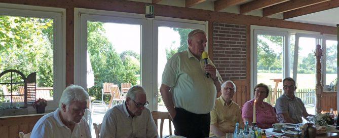 Podium von links: Norbert Klapper, Hans Günter Hahn, Karl-Josef Laumann, Reiner Krauße, Dorothea Stauvermann, Volkmar Heinen-Breimhorst