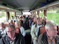 ...mit dem Bus auf dem Weg nach Telgte.