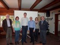 Die Regionalleiter bedanken sich bei Dr. Siebecker und den Teilnehmern.