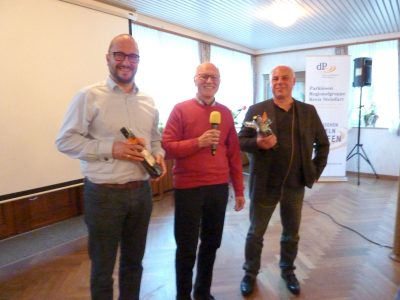 Felix Staffehl, Reiner Krauße, Dr. Michael Mandrysch