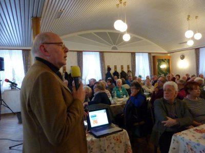Volles Haus bei Vortrag von Prof. Dr. Wolfgang Greulich