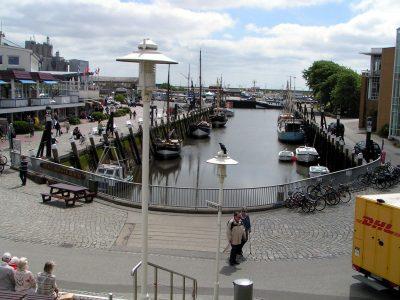 Hafen in Büsum