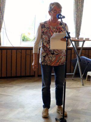 Irene Borgs trug zur Erweiterung des (Schimpf-)Wortschatzes bei.