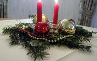 Adventsgesteck