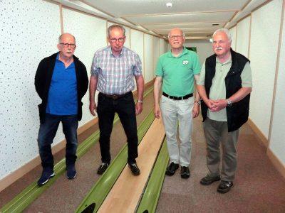 Von links: Reinhard Kamp, Georg Klöpper, Reiner Krauße, Siegfried Gerding
