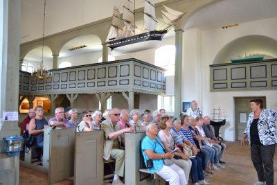 Führung in der Seemannskirche zu Prerow