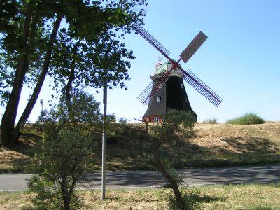 Windmühle auf der Insel Poel