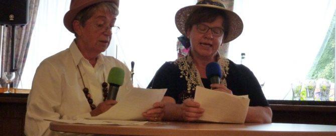 """Irene Borgs und Jutta Voss: """"Die alte und die neue Zeit"""""""