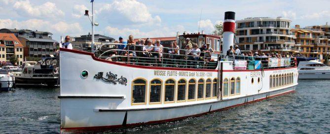 Das Schiff für die 3-Seenfahrt
