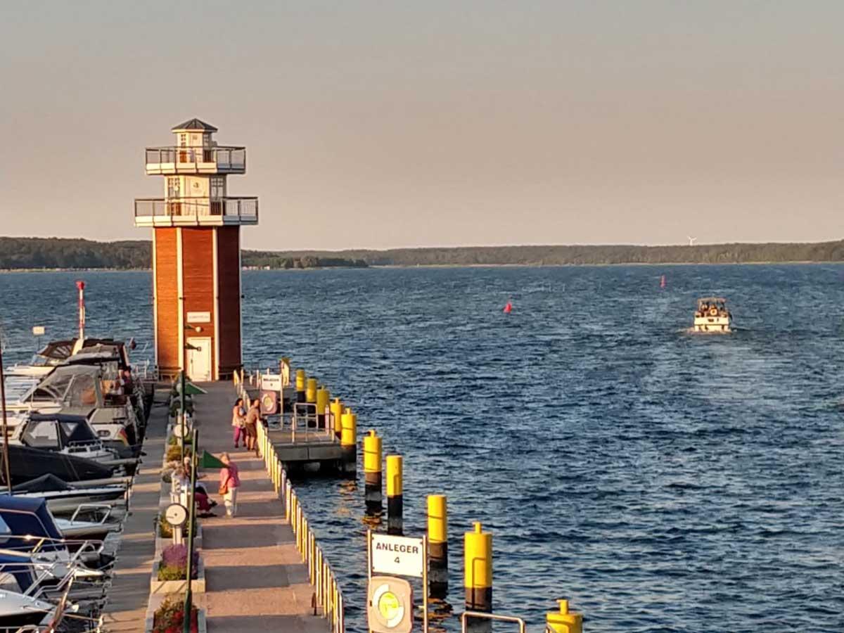 Leuchtturm in Plau am See