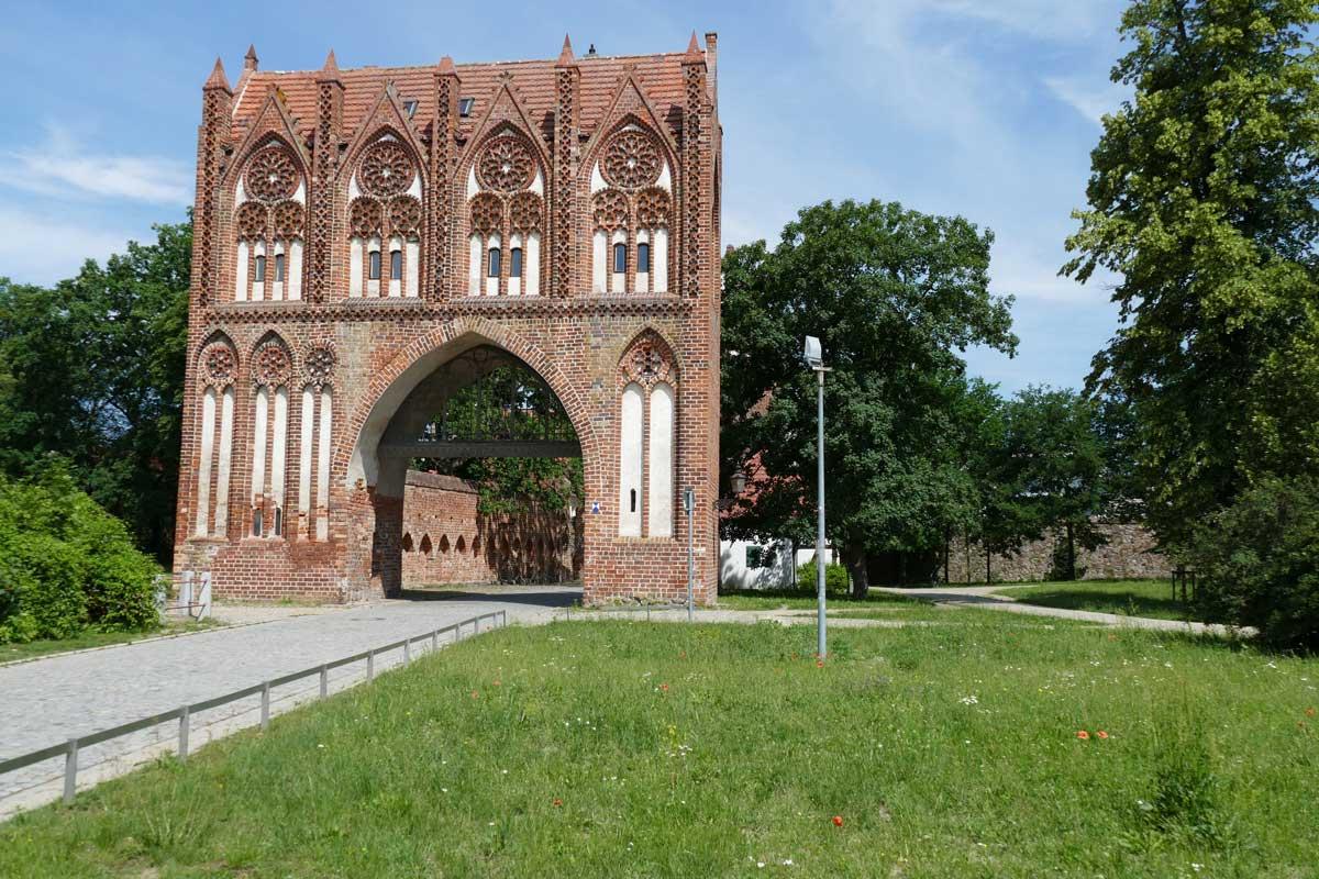 Gotisches Stadttor in Neubrandenburg