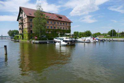 Hafen in Neustrelitz