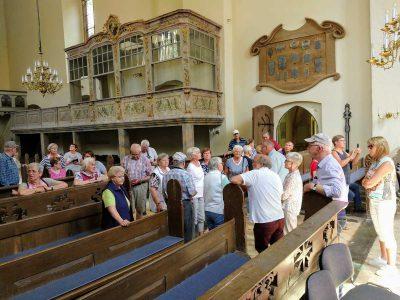 Besichtigung der Ivenacker Kirche